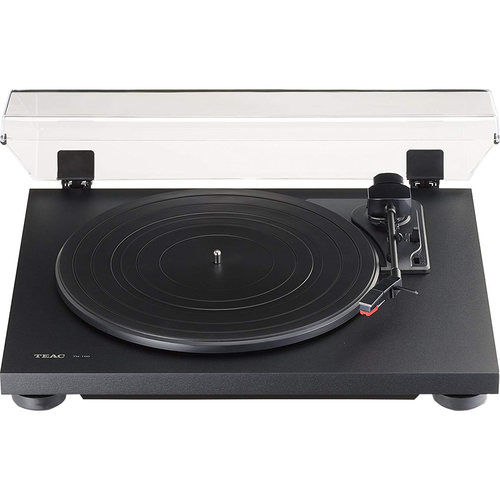 Teac TN-100 Belt-Drive Turntable with Preamp & USB Digital Output - Black - Open Box