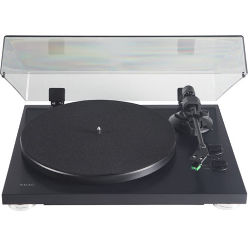 Teac 2-Speed Analog Belt-Drive Turntable with USB Digital Output Matte Black TN-300SE
