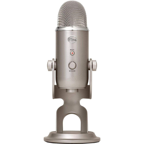 BLUE MICROPHONES Yeti 3-Capsule USB Microphone - Platinum - Open Box