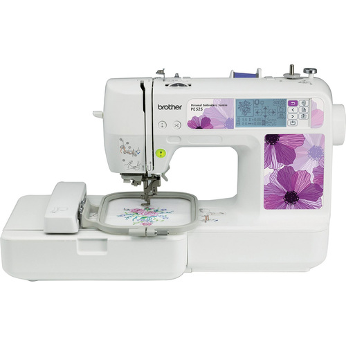 Brother Embroidery Machine 70 Designs - PE525 - Open Box