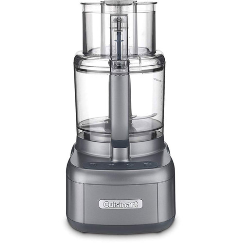 Cuisinart FP-11GM Food Processor, Gunmetal (REFURBISHED)