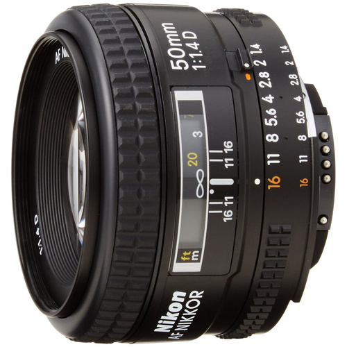 Nikon 1902B 50mm F/1.4D AF Nikkor Lens - Renewed