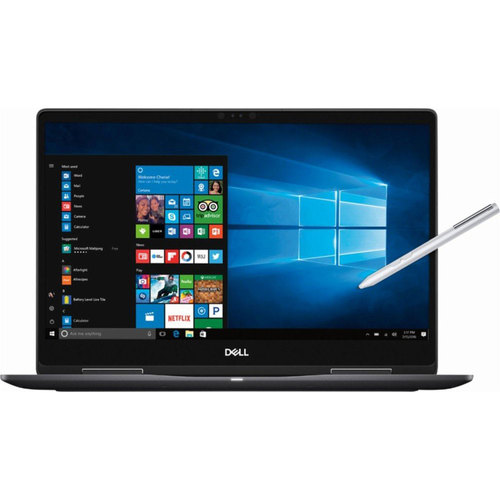 Dell 15.6` Laptop Touch  2 in 1 4k Intel Core i7-8550U 16GB 256SSD - i7573-7019BLK