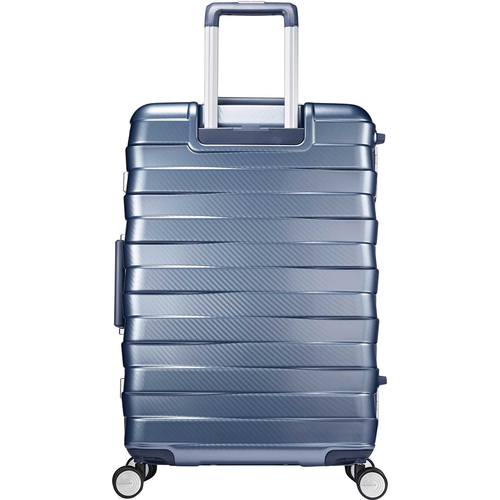 Samsonite Framelock Hardside Carry On Luggage with Spinner Wheels, 25 Inch, Ice Blue