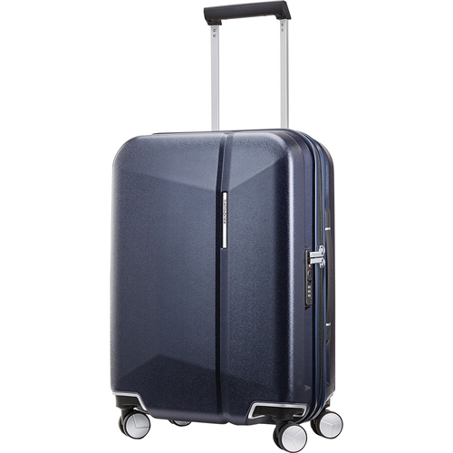 Samsonite Etude 20` Hardside Luggage with Double Spinner Wheels (Dark Navy) - Open Box
