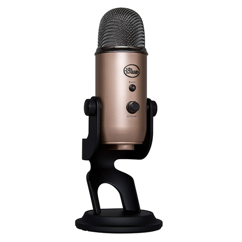 Blue Yeti USB Microphone - (988-000077)(Aztec Copper) with Desktop Stand