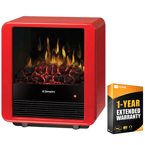 Dimplex Mini Cube Electric Stove-Style Fireplace with Extended Warranty