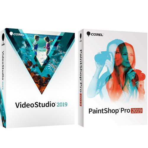 Corel Photo Video Suite Paintshop Pro With Videostudio 2019 Digital Download Buydig Com