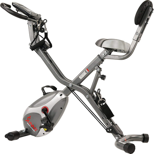 Sunny Health and Fitness Total Body Indoor Exercise Bike - (SF-B2710) - Open Box