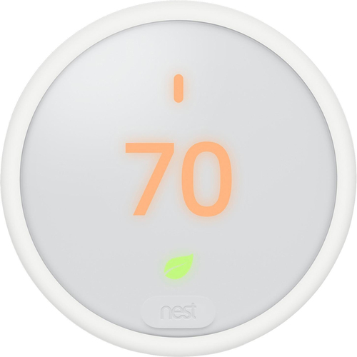Thermostat E T4000ES Programmable Smart Thermostat for Home with Voice Assistant