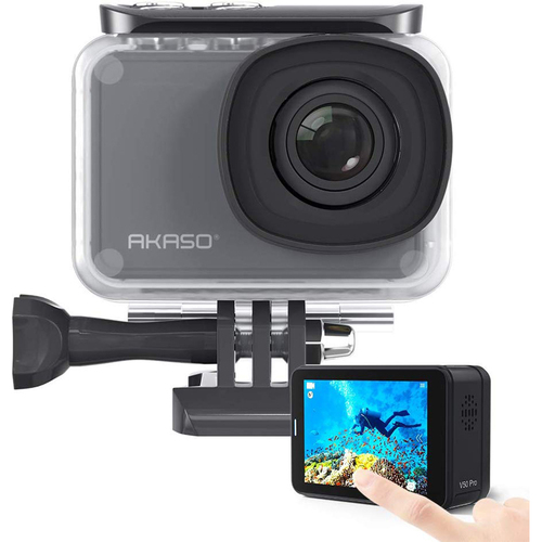 Akaso V50 Pro Native 4K/30 fps 20 MP WiFi Waterproof Action Camera - Open Box