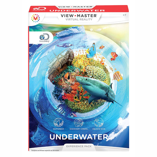 Mattel View-Master Experience Pack: Discovery Underwater