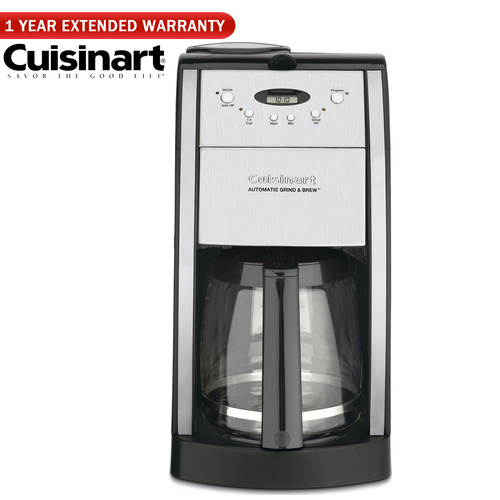Cuisinart Brew Central 12-Cup Programmable Coffeemaker - Renewed +1 Year Extended Warranty
