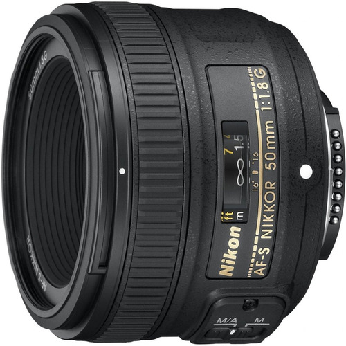 Nikon 50mm f/1.8G AF-S FX NIKKOR Lens for Nikon Digital SLR Cameras
