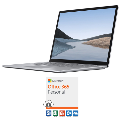 Microsoft Surface Laptop 3 15` AMD Ryzen 5 3580U 16GB/256GB Platinum+Office 365