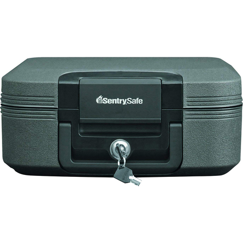 SentrySafe Waterproof Fire-Resistant Medium Tubular Lock Chest CFW20201  - Open Box