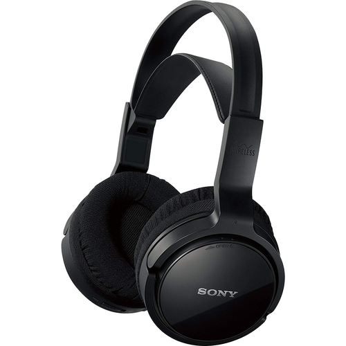 MDRRF912RK Wireless Stereo Home Theater Headphones, Black