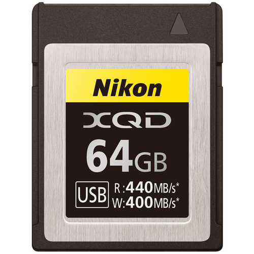 Nikon XQD 64GB High Speed Memory Card - (27214)