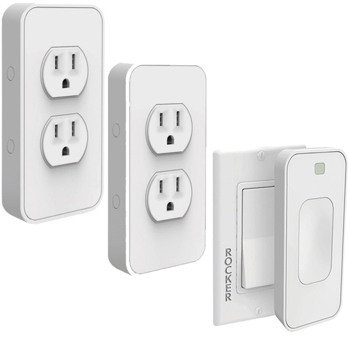 SimplySmartHome Snap-on Smart Power Outlet w/ Voice Control & Motion Activated Switch REFURB