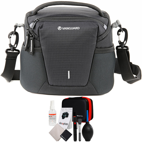Vanguard Compact Shoulder Camera & Photography Bag + Deco Photo Cleaning Kit