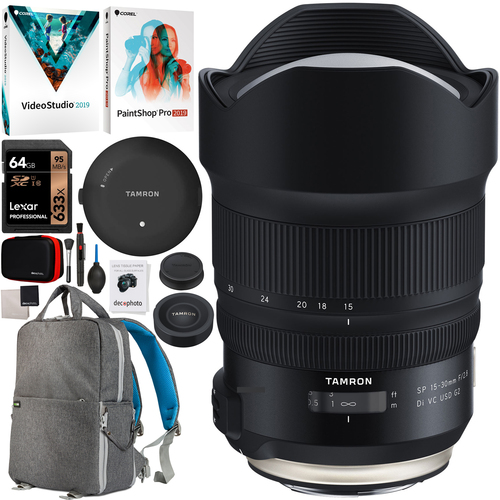 Tamron SP 15-30mm F2.8 Di VC USD G2 A041 + TAP-in Console for Canon Mount Bundle