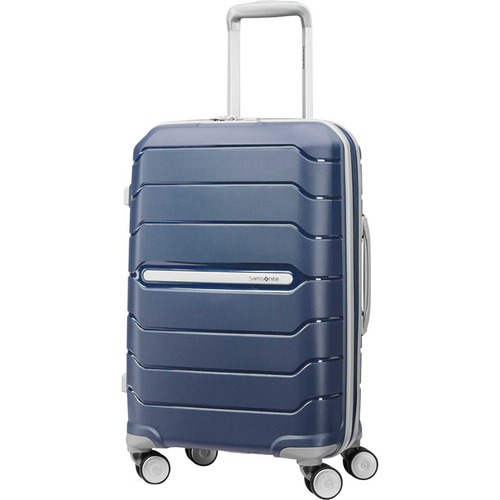Samsonite Freeform 21` Hardside Spinner Luggage - Navy - (78255-1596) - Open Box