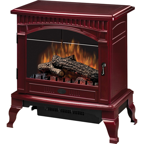 Dimplex Electric Stove-Style Fireplace - Cranberry - Open Box