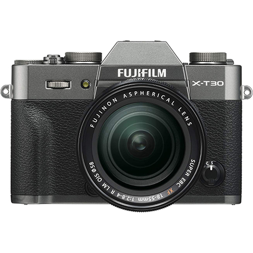 Fujifilm X-T30 Mirrorless Camera with XF 18-55mm f/2.8-4 R LM OIS Lens (Charcoal Silver)