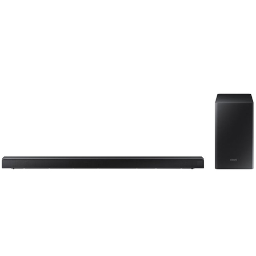 Samsung 200W 2.1-Channel Soundbar System with Wireless Subwoofer - (HWR450) - Open Box