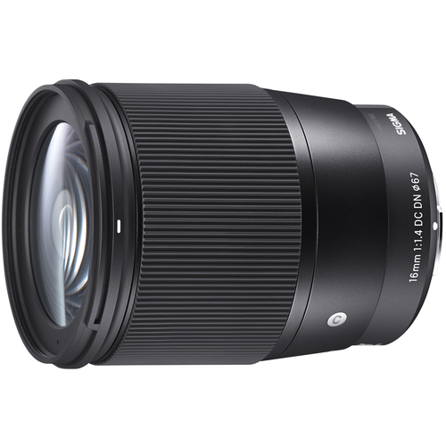 Sigma 16mm F1.4 DC DN Sony E Mount Lens - 402965 - Open Box