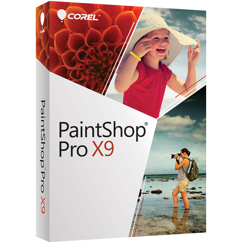 Corel Paint Shop Pro 2018 (Digital Download Card - Updated Version of the X9)
