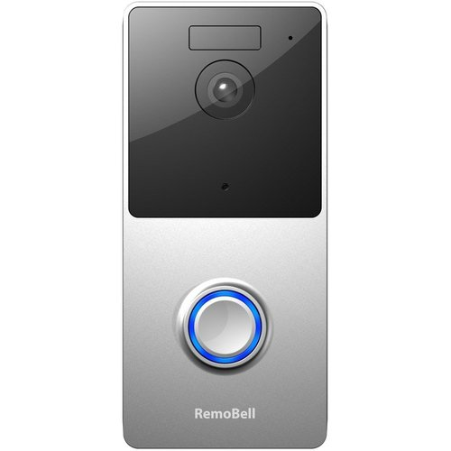 RemoBell WiFi Video Doorbell (Battery Powered, Night Vision, 2-Way Audio) RMB1M