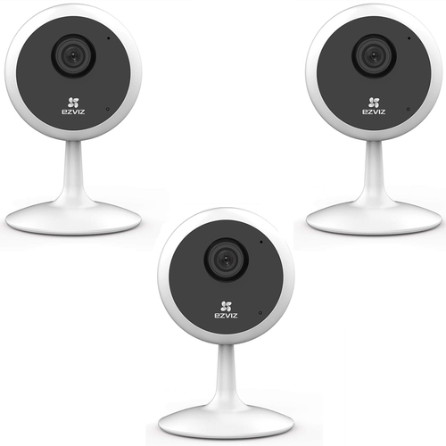 EZVIZ C1C 720p Indoor WiFi Security Camera Smart Motion Detection 3 Pack