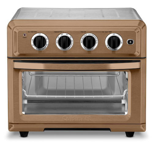Cuisinart TOA-60C Convection Toaster Oven Air Fryer with Light, Copper Stainless