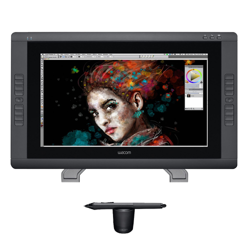 Wacom Cintiq 22HD Touch Pen Display - (Renewed)
