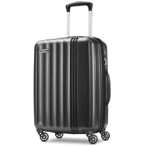 Samsonite Cerene Hardside Luggage  20` Carry-on with Spinner Wheels, Black
