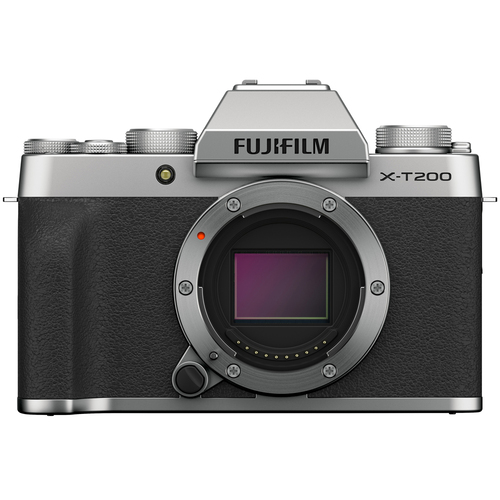 Fujifilm X-T200 Mirrorless Digital Camera - Silver - (16645618)