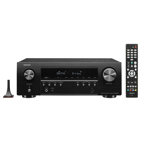 Denon AVR-S650H Audio Video Receiver, 5.2 Channel 4K UHD Home Theater Surround Sound