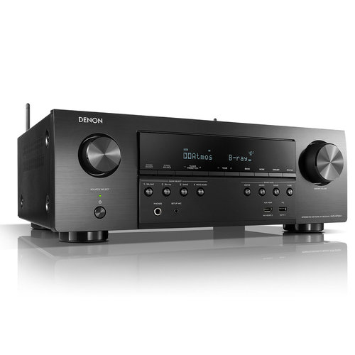 Denon AVR-S750H AV Receiver, 7.2 Channel 4K UHD Home Theater 3D Dolby Surround Sound