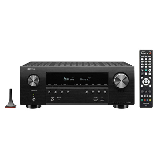 Denon AVR-S950H AV Receiver, 7.2 Channel 4K UHD Home Theater 3D Dolby Surround Sound