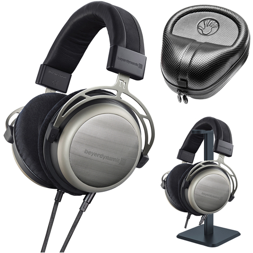 BeyerDynamic T1 Second Generation Audiophile Stereo Headphone w/ Stand & Case
