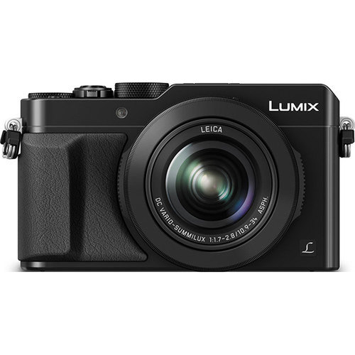 Panasonic LUMIX LX100 Integrated Leica DC Lens Black Camera - OPEN BOX