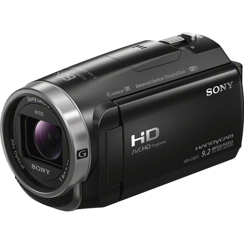 Sony HDR-CX675/B Full HD Handycam Camcorder w/Exmor R CMOS - OPEN BOX
