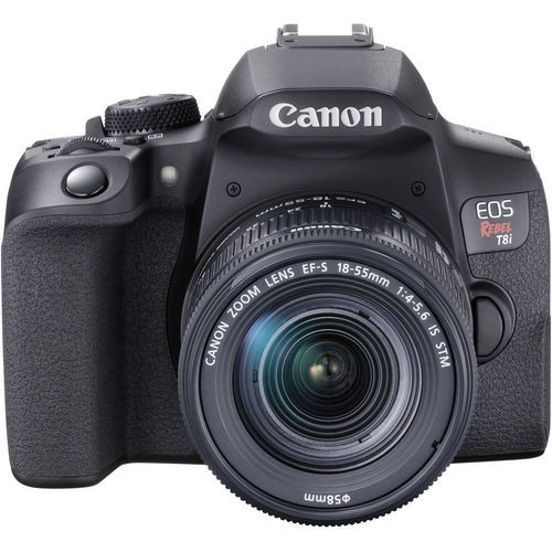 Canon EOS Rebel T8i Digital SLR Camera with EF-S 18-55mm IS STM Lens