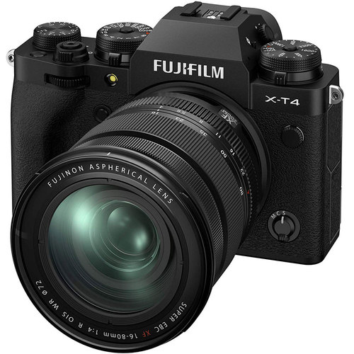 Fujifilm X-T4 26.1MP 4K Mirrorless Digital Camera with 16-80mm Lens Kit (Black) 16652893