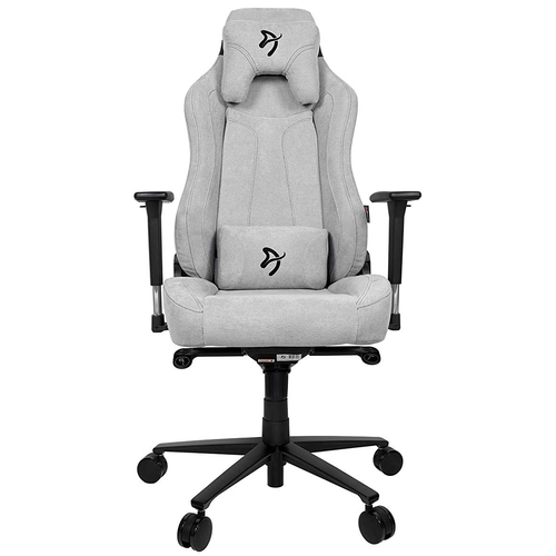 Arozzi Vernazza Soft Fabric Gaming Chair - Light Grey VERNAZZA-SFB-LG