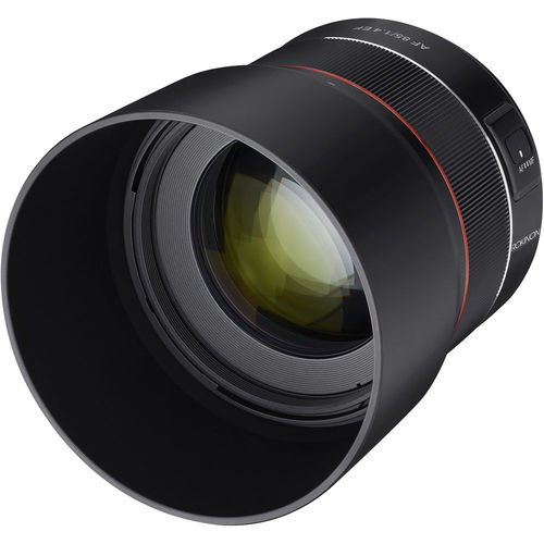 Rokinon 85mm f/1.4 Auto Focus Lens for Canon EF Mount - Renewed
