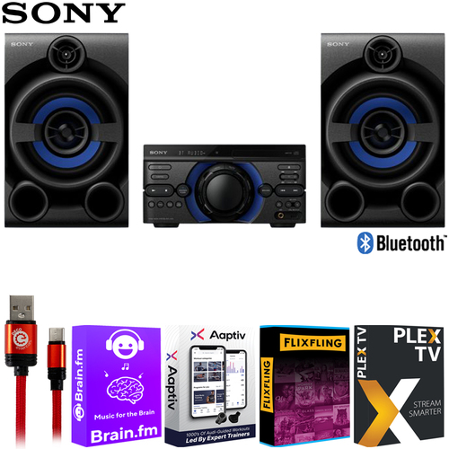 Sony MHC-M20 High Power Audio System CD w/ Software Bundle