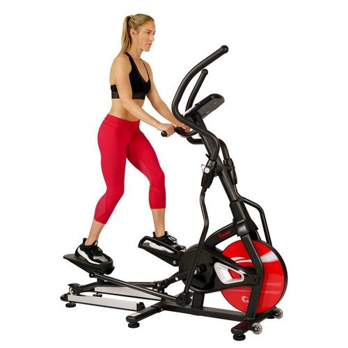 Sunny Health and Fitness Stride Zone Elliptical w/ Tablet Holder, LCD Monitor and HR Monitor - (SF-E3865)