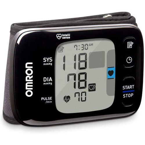 Omron 7 Series Wireless Bluetooth Wrist Blood Pressure Monitor BP6350